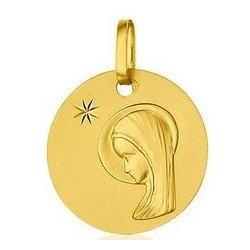 Médaille de la Vierge - or 18 carats