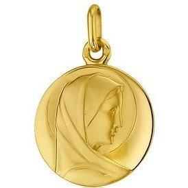 Médaille de la Vierge 18mm profil - or 18 carats
