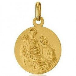 Médaille Sainte Famille - or 18 carats