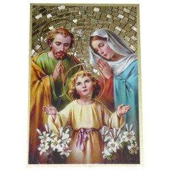 Cadre à suspendre de la Sainte Famille