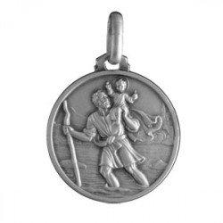Médaille Saint Christophe - argent