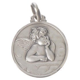 Médaille Ange bordure - argent