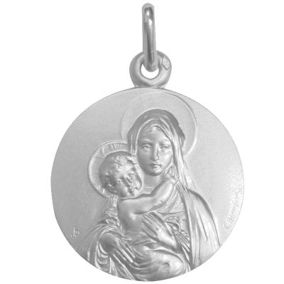 Médaille de la Vierge à l'Enfant - argent