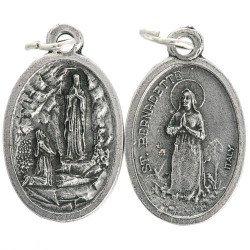 Médaille Notre Dame de Lourdes - 20 mm