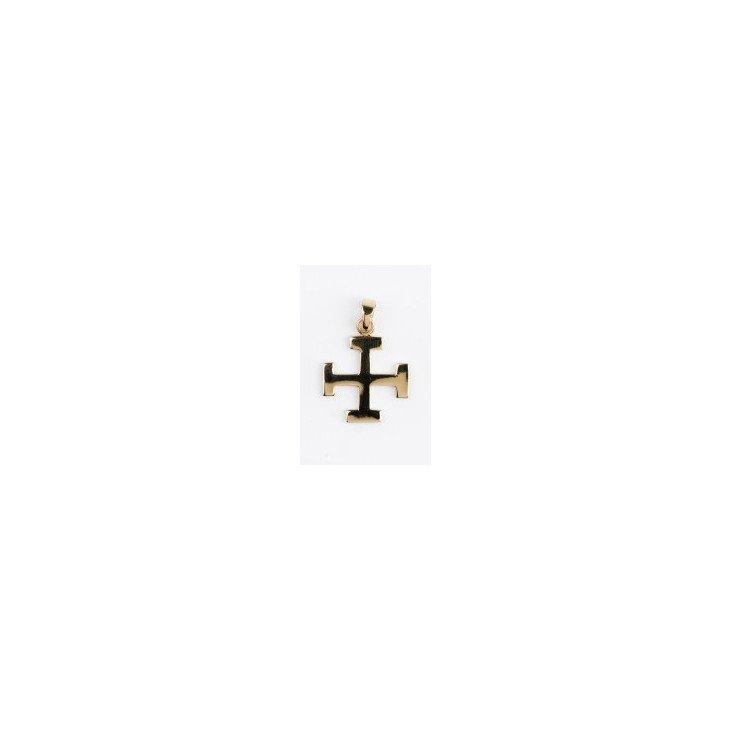 Croix Scoute - plaqué or