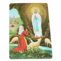 Carte de prière - Notre Dame de Lourdes