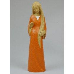 Statue Yves le Pape - Marie de l'Attente