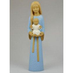 Statue Yves le Pape - Marie Mère des Familles