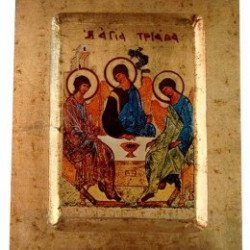 Icône Creuse Sainte Trinité