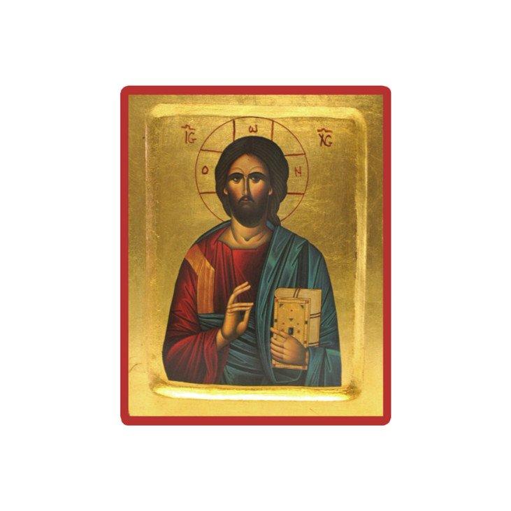 Icone Christ Livre Ferme