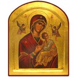 Icône Creuse Notre-Dame de Perpétuel Secours Arrondie