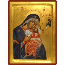 Icône Creuse Vierge de Passion
