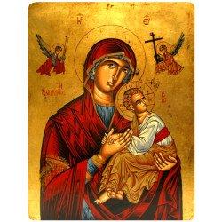 Icône Plate Notre Dame de Perpétuel Secours