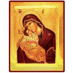 Icône Creuse Vierge de Tendresse