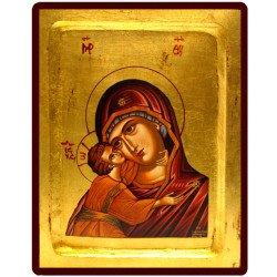 Icône Creuse Vierge de Korsun