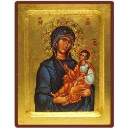 Icône Creuse Vierge Toute Puissante