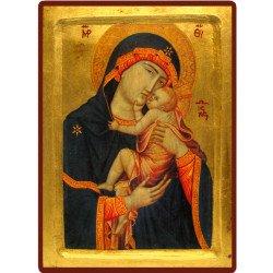 Icône Creuse Vierge de Cambrai