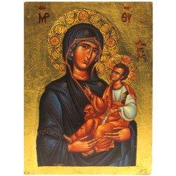 Icône Plate Vierge de Toutes les Grâces