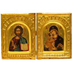 Icône Bible Vierge de Vladimir