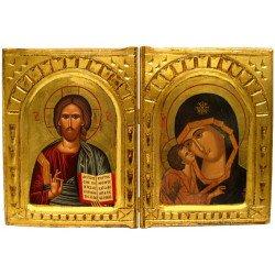 Icône Bible Vierge de Vladimir Détails