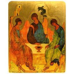 Icône Plate Trinité de Roublev