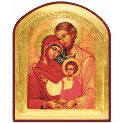 Icône Creuse Arrondie Sainte Famille