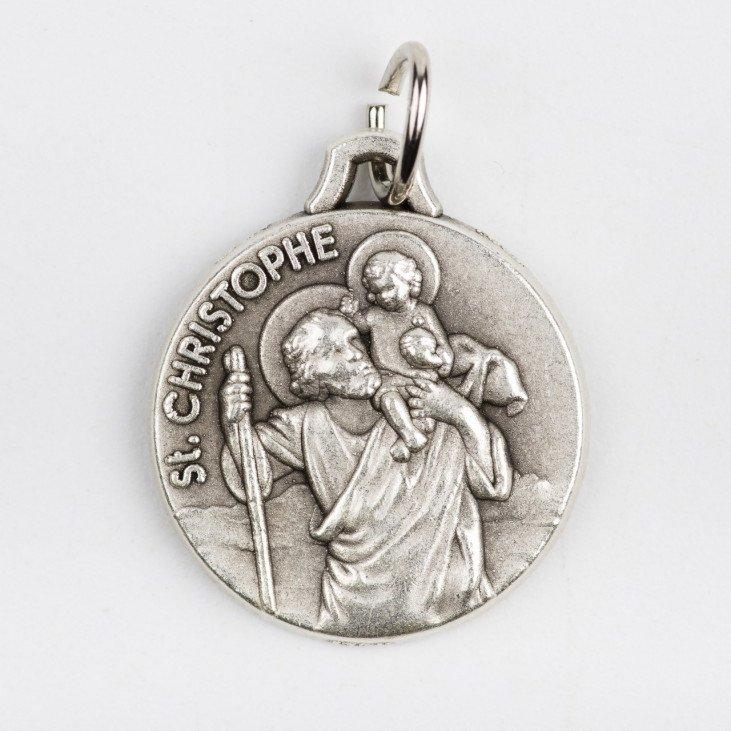 Médaille Saint Christophe - 18mm