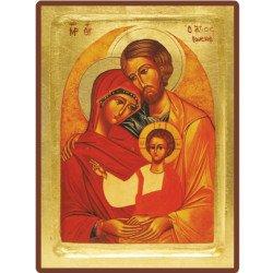 Icône Creuse de la sainte Famille