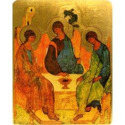 Icône Plate Sainte Trinité