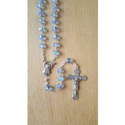 Chapelet Vierge Marie - Bleu ciel