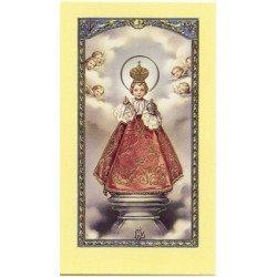 Image avec prière - Enfant Jésus de Prague
