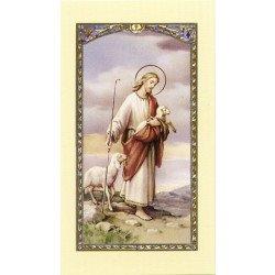 Image avec prière - Bon Pasteur