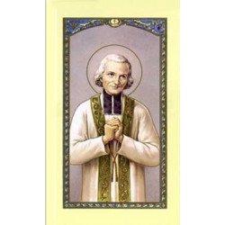 Image avec prière - Curé d'Ars