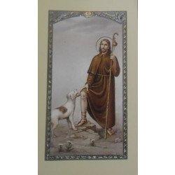 Image avec prière - Saint Roch