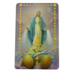 Carte des Saints Mystères - Notre Dame du Rosaire