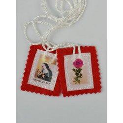 Scapulaire en tissu - Sainte Rita