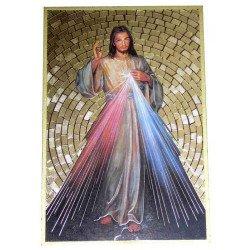 Cadre à suspendre du Christ Miséricordieux