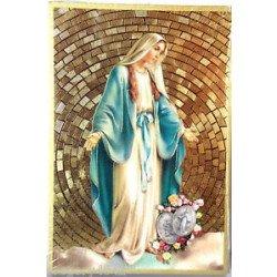 Cadre à suspendre de la Vierge Miraculeuse
