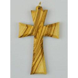 Croix d'aube en bois d'olivier - 8 cm
