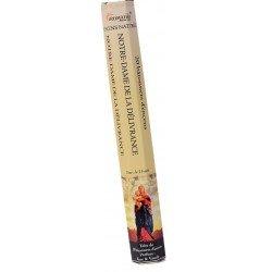 Encens naturel Notre-Dame de la délivrance tube de 20 bâtonnets