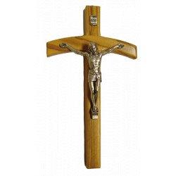 Crucifix en bois d'olivier