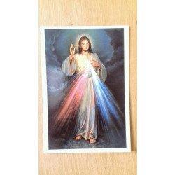 Carte postale - Jésus Miséricordieux