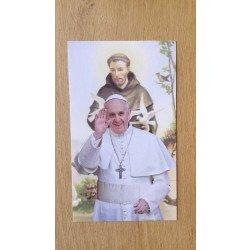 Image Pape François & Saint François