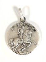 Médaille Saint Georges en métal - 15 mm