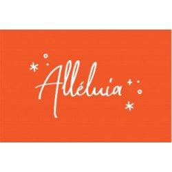 Carte - Alléluia