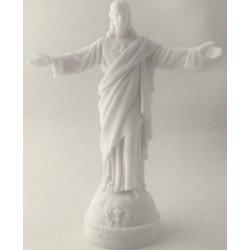 Statue Sacré-Coeur des Familles en albâtre