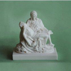 La Pieta en albâtre - 18 cm