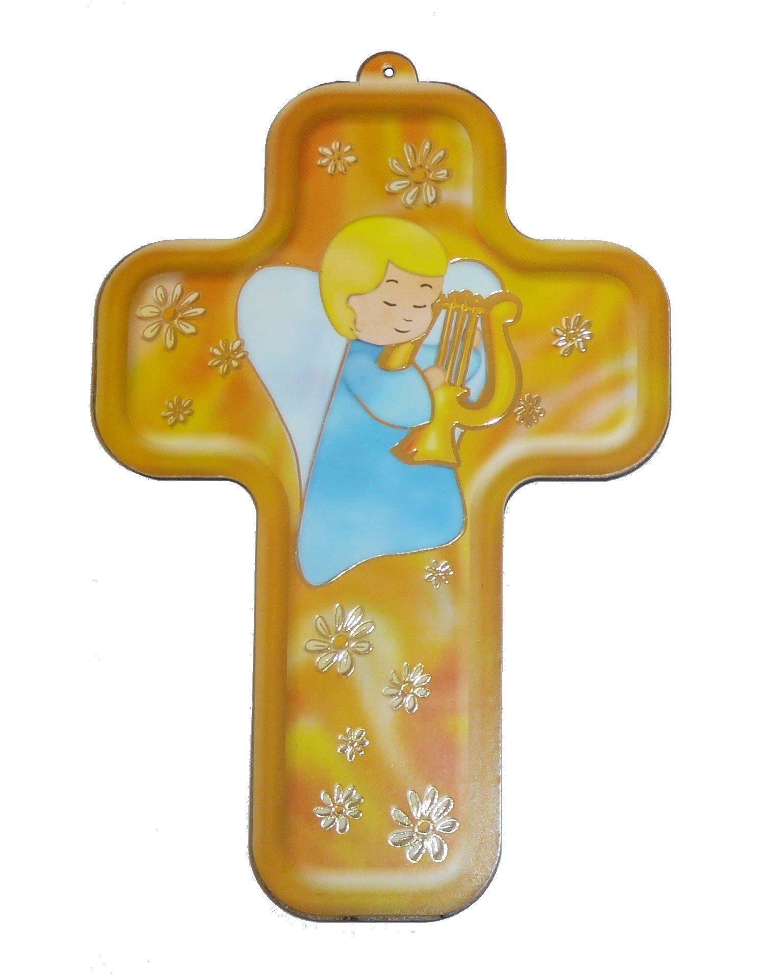 Croix pour enfant - Lyre