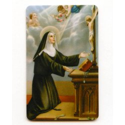 Carte de prière - Sainte Rita
