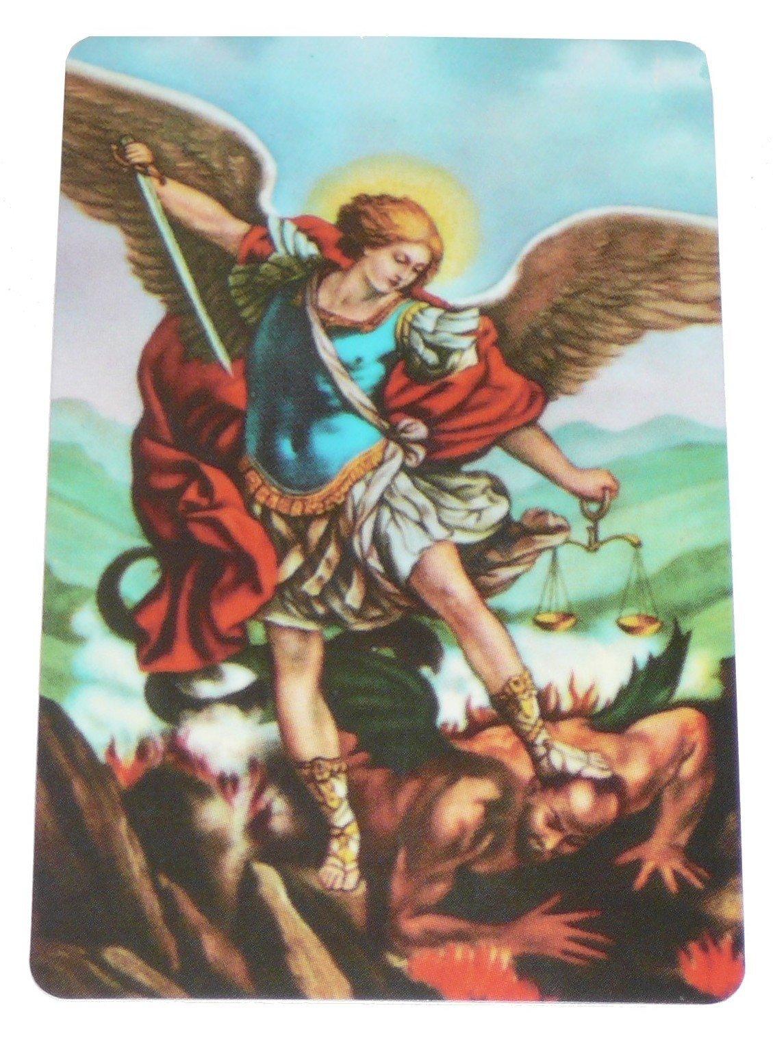Carte de prière - Saint Michel Archange